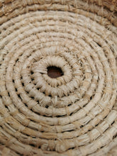 Load image into Gallery viewer, Coil Basket - Natural Raffia