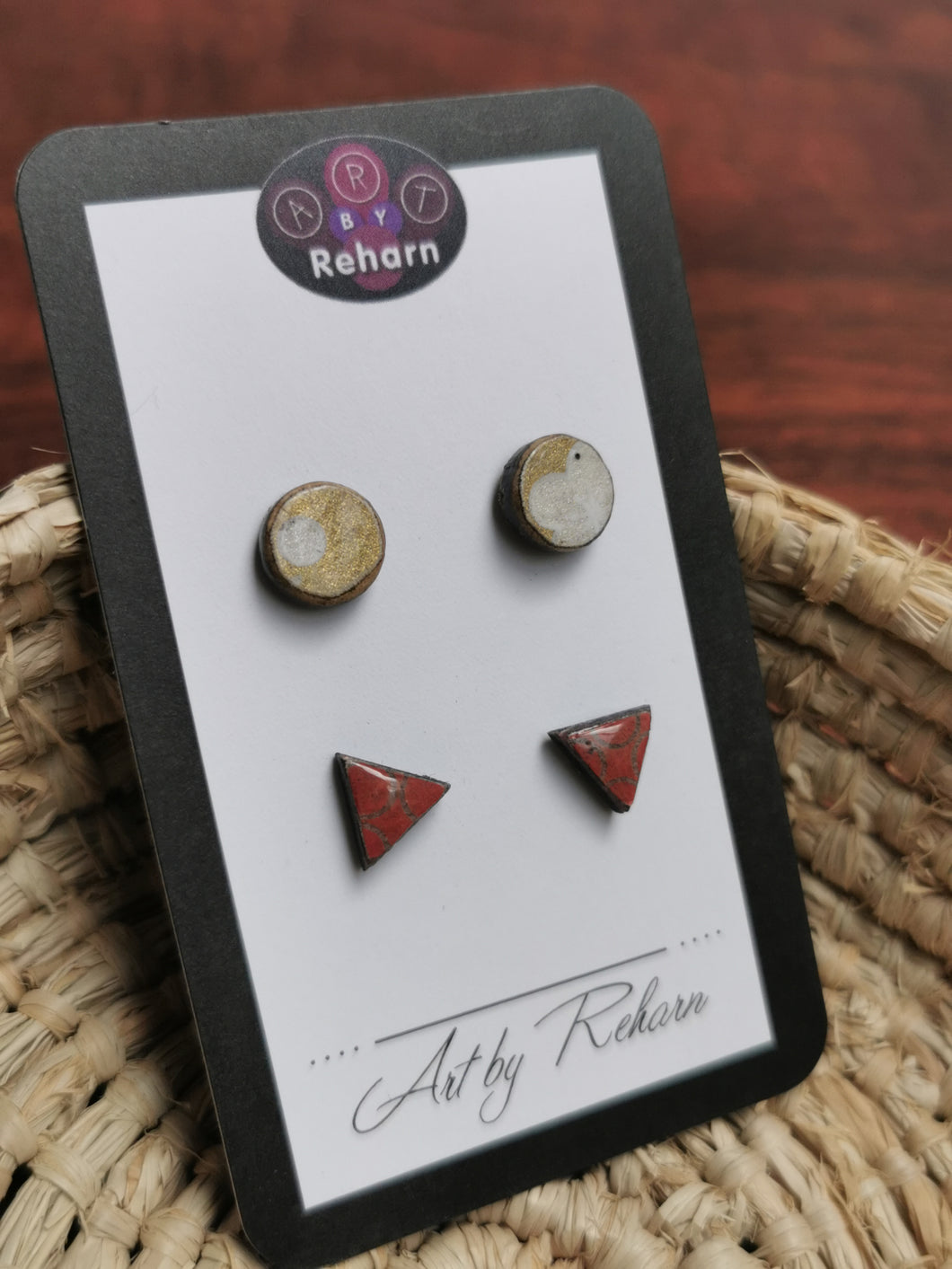 Set Small Studs (2 pairs)