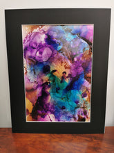 Load image into Gallery viewer, Original Ink Artwork - Rainbow Galaxy
