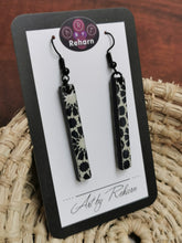 Load image into Gallery viewer, SD Earrings - Black & White pattern