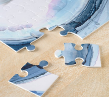 Load image into Gallery viewer, Blue Bubbles - Artwork Jigsaw Puzzle