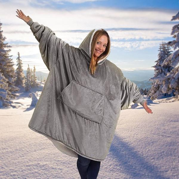 Christmas Hot Sale!!!-Winter Oversized Warming Hoodie(Buy 2 Free Shipping And Buy 3 Get 4)