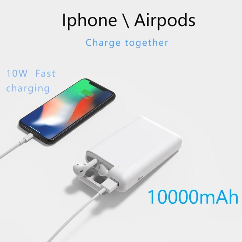 2-in-1 Mobile Power Bank and Airpods Charging Case(Buy 2 Free Shipping)