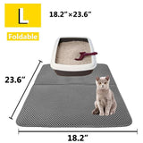2019- New Double Layer Larger Size Cat Litter Mat