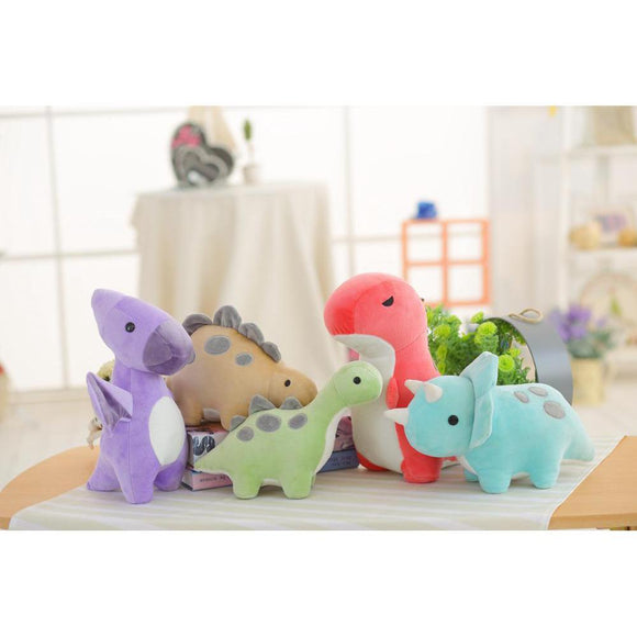 Colorful Plush Dinosaur Pillows Plush Toys