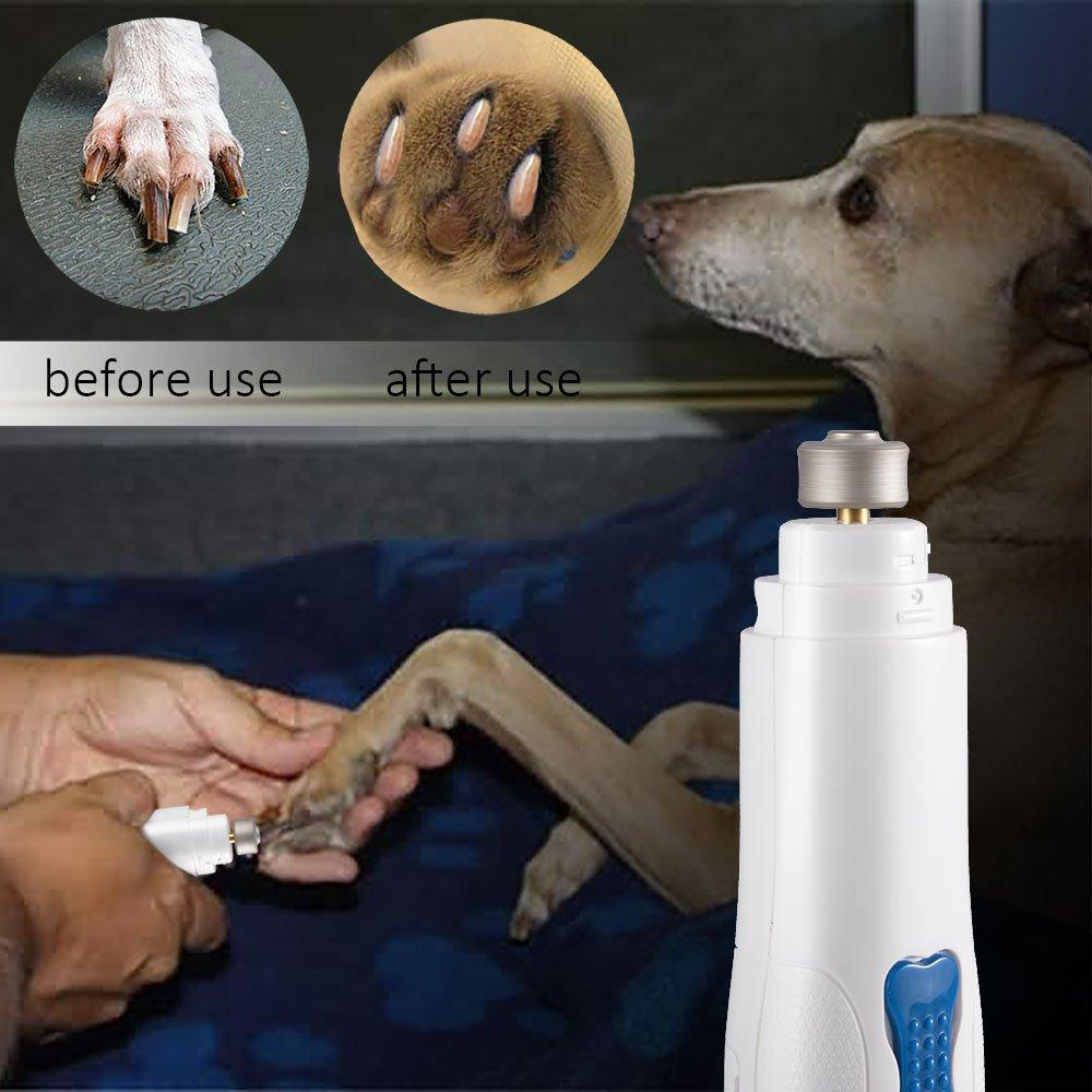 Super Silent Electric Pet Nail Grinder Gentle Paws Nail Clipper Cuticle Smooth Trimmer