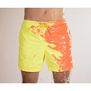 Temperature-Sensitive Color-Changing Beach Swim Pants