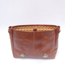 Load image into Gallery viewer, Adisher Leather Messenger Bag