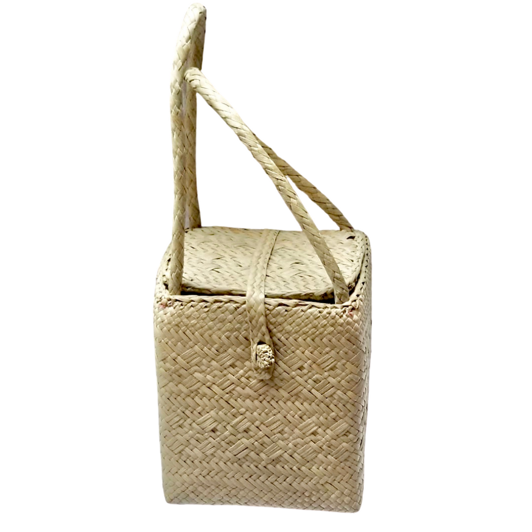 HEXI Woven Accessory Bag