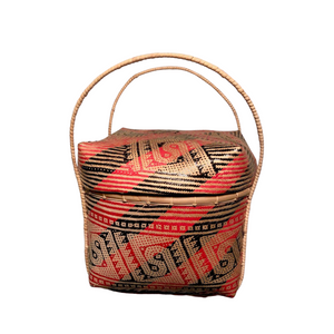 HEXI Ethnic Rice Basket