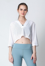 Load image into Gallery viewer, Cuca Crop Hoodie Top