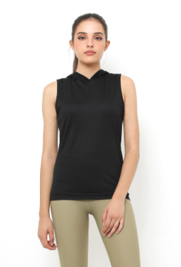 Cuca Sporty Hoodie Sleeveless Top
