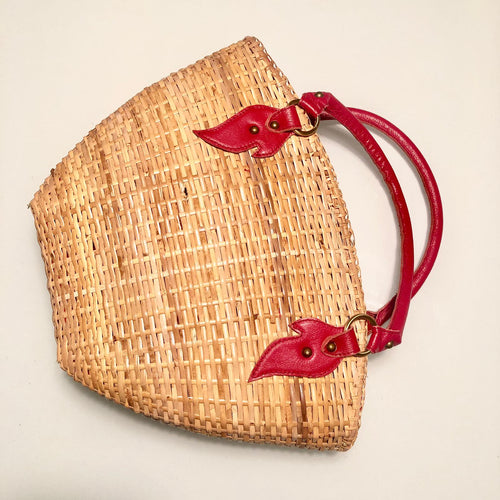 Lunar Straw Bag