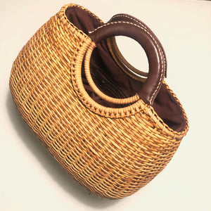 Lunar Chubby Straw Bag