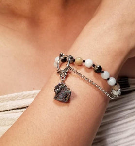 Arra Beads and Stone Bracelet