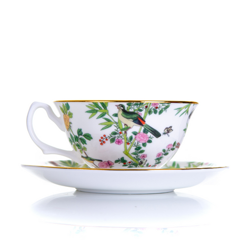 Cup and Saucer | Chinese Wallpaper Collection