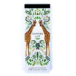Shopping List Pad Giraffe Poo Paper Collection