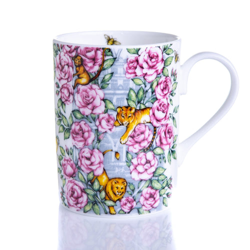 The Lucy Mug fine bone china coffee mug tea coffee set Emmas Kitchen Longleat