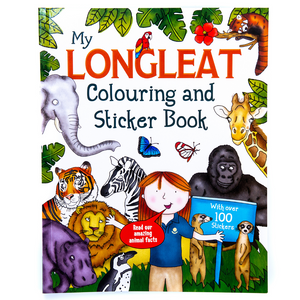 My Longleat Colouring and Sticker Book