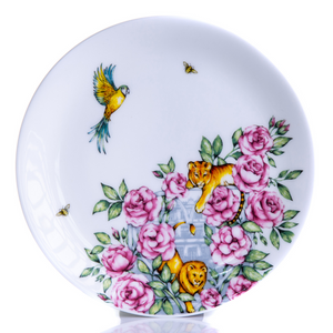 Emma's Kitchen Fine Bone China Coupe Plate 20cm Longleat Shop