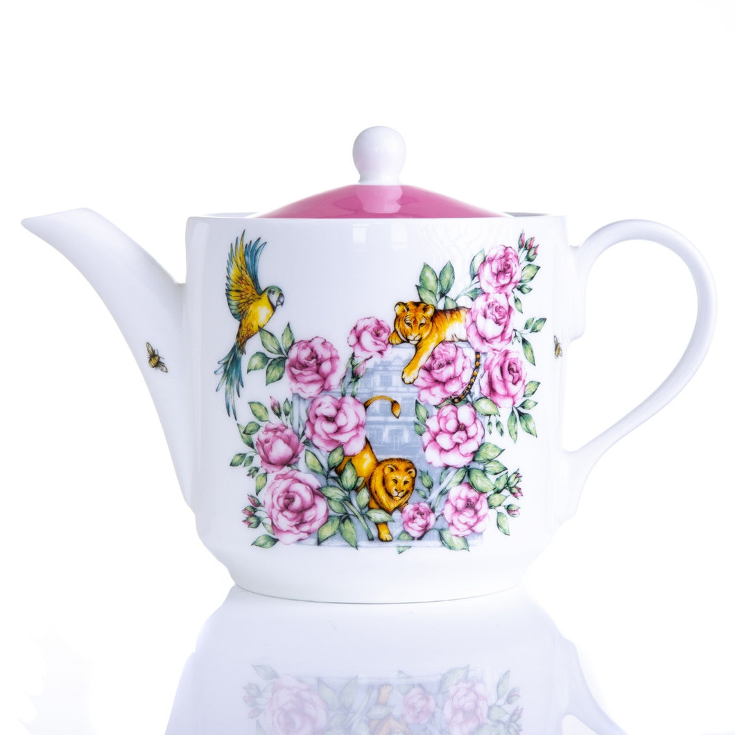 Teapot afternoon tea bone china gift set Emmas Kitchen Longleat