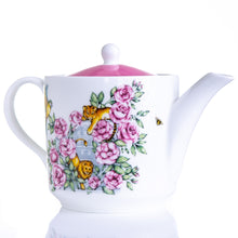 Load image into Gallery viewer, Teapot afternoon tea bone china gift set Emmas Kitchen Longleat