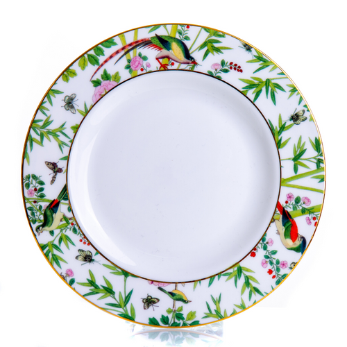 Small Plate 8inch | Chinese Wallpaper Collection