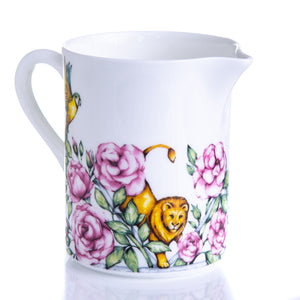 Small milk jug fine bone china floral tea set Emmas Kitchen Longleat Shop