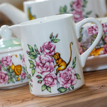 Load image into Gallery viewer, Small milk jug fine bone china floral tea set Emmas Kitchen Longleat Shop