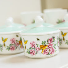 Load image into Gallery viewer, Sugar Pot with Lid fine bone china floral tea set Emmas Kitchen Longleat