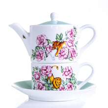 Load image into Gallery viewer, Teapot tea for one gift set fine bone china Emmas Kitchen Longleat