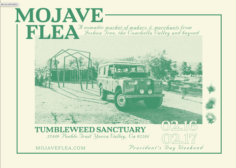 Mojave Flea Feb. 16th & 17th