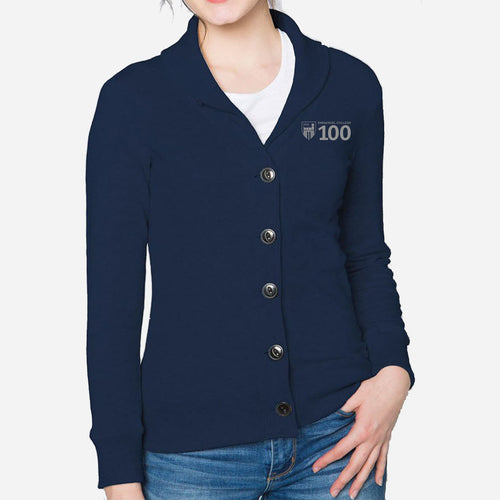 Women's French Terry Cardigan