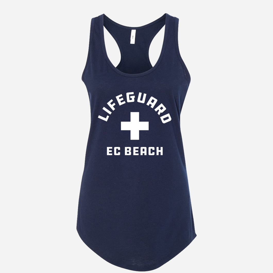 Women's EC Beach Lifeguard Tank