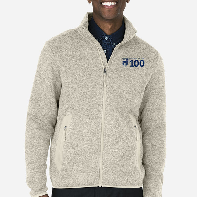 Men's Sweater Fleece Jacket