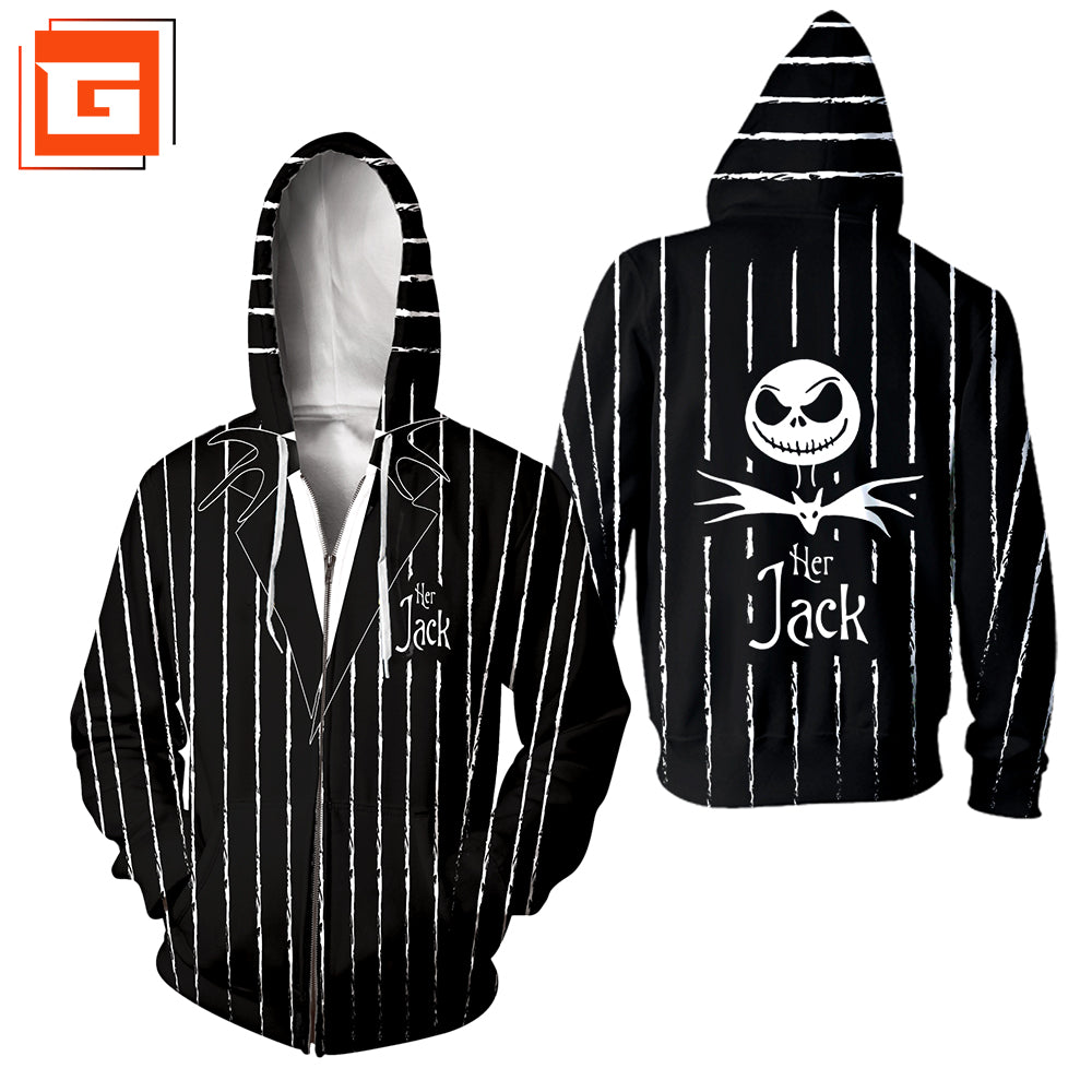 3D ALL OVER PRINTED NIGHTMARE BEFORE CHRISTMAS SWEATSHIRT 17
