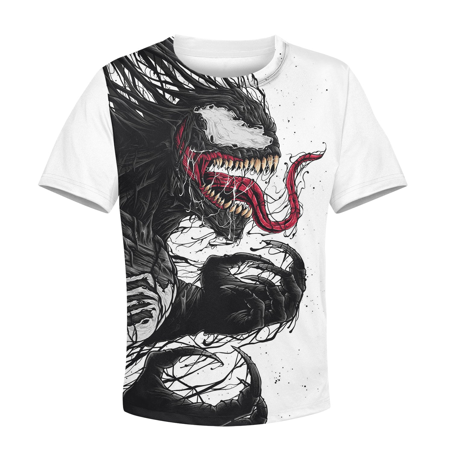 Beautiful 3D All Over Printed Venom Clothes For Kids