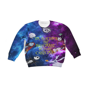 Beautiful 3D All Over Printed The Nightmare Before Christmas Clothes For Kids 07