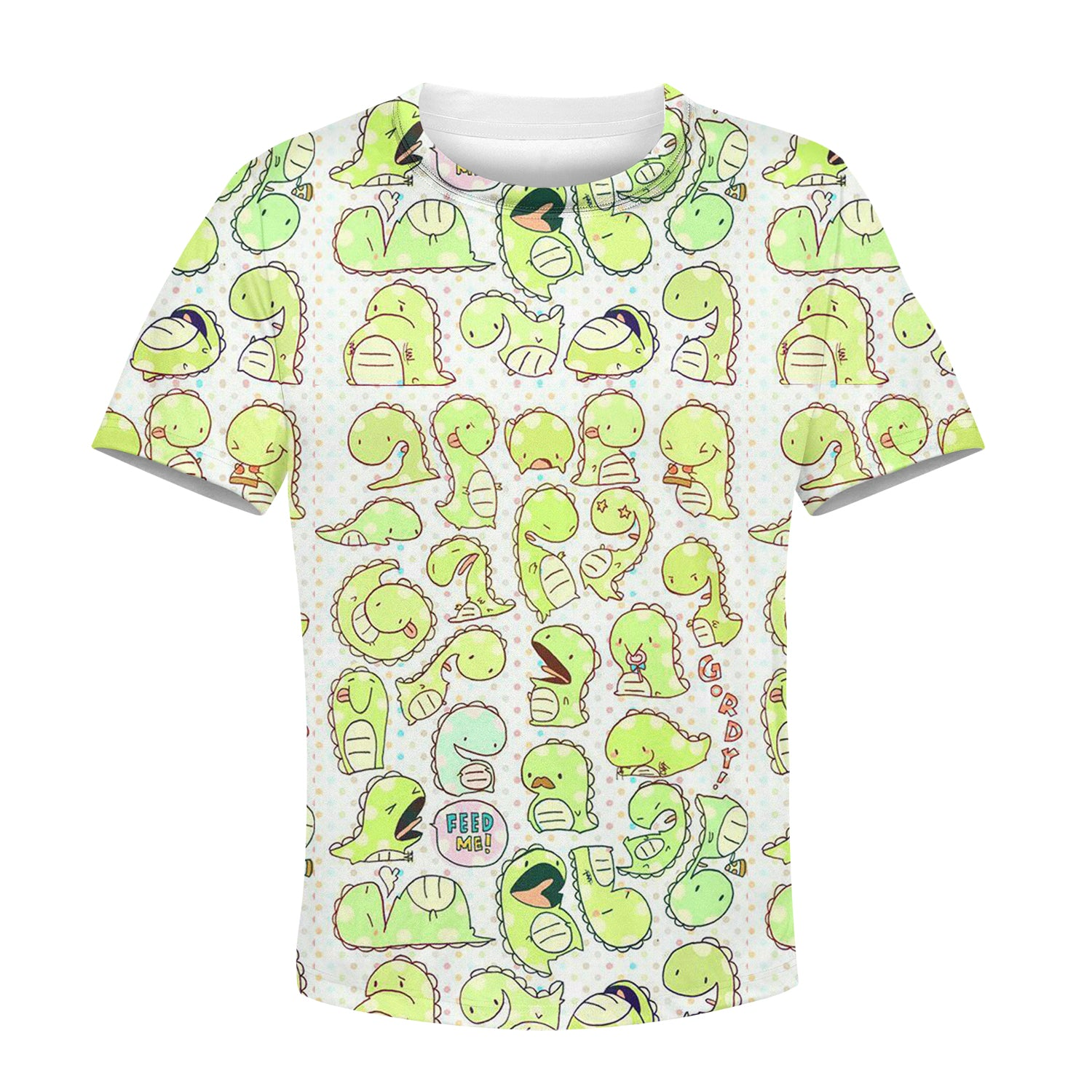 Beautiful 3D All Over Printed Dinosaur Clothes For Kids 01