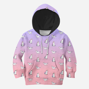 Beautiful 3D All Over Printed Unicorn Clothes For Kids