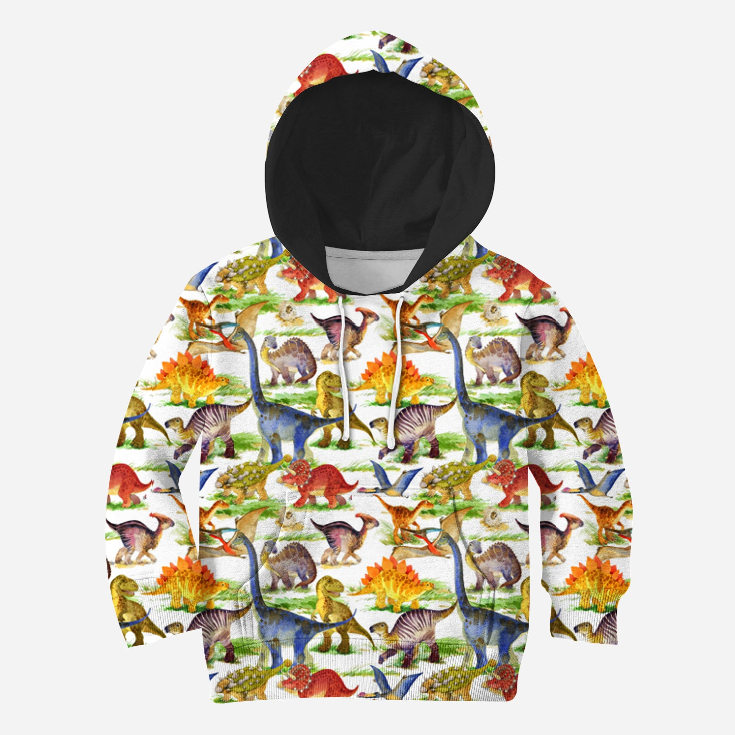 Beautiful 3D All Over Printed Dinosaur Clothes For Kids 11