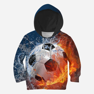 Beautiful 3D All Over Printed Soccer Clothes For Kids