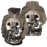 Load image into Gallery viewer, 3D All Over Printed Jason Voorhees Friday The 13th Clothes