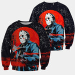 Load image into Gallery viewer, 3D All Over Printed Jason Voorhees Friday The 13th Clothes 03