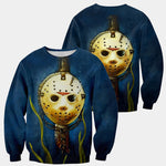 Load image into Gallery viewer, 3D All Over Printed Jason Voorhees Friday The 13th Clothes 06