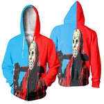 Load image into Gallery viewer, 3D All Over Printed Jason Voorhees Friday The 13th Clothes 08