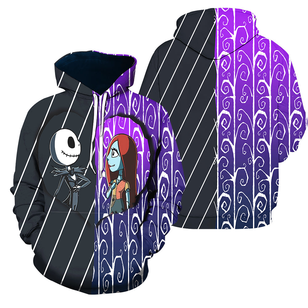 3D All Over Printed Jack Skellington Clothes 13
