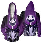 Load image into Gallery viewer, 3D All Over Printed Jack Skellington Clothes 14
