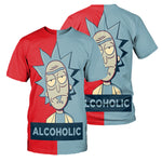Load image into Gallery viewer, Rick And Morty All Over Printed Shirts For Men & Women 03