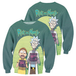 Load image into Gallery viewer, Rick And Morty All Over Printed Shirts For Men & Women 09